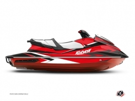 Yamaha GP 1800 Jet-Ski Stage Graphic Kit Red Black