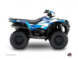 Suzuki King Quad 400 ATV Stage Graphic Kit Blue