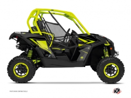 Can Am Maverick UTV Stage Graphic Kit Green