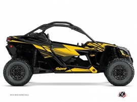 Kit Déco SSV Stage Can Am Maverick X3 Jaune