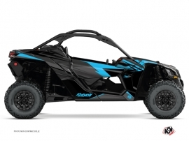 Kit Déco SSV Stage Can Am Maverick X3 Noir Bleu