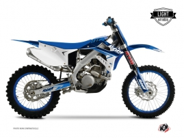 TM MX 125 Dirt Bike Stage Graphic Kit Blue LIGHT