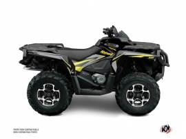 Kit Déco Quad Stage Can Am Outlander 1000 Neon Gris