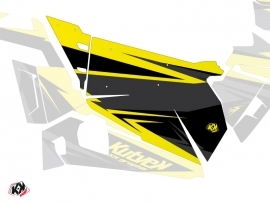 Kit Déco Portes Origine Stage SSV Polaris RZR 900S/1000/Turbo 2015-2017 Noir Jaune
