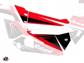 Graphic Kit Doors Origin Stage UTV Polaris RZR 900S/1000/Turbo 2015-2017 Black Red