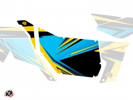 Graphic Kit Doors Suicide Pro Armor Stage Can Am Maverick 2012-2017 Yellow Blue