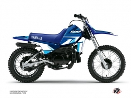 Kit Déco Moto Cross Stage Yamaha PW 80 Bleu