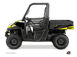 Polaris Ranger 570 UTV Stage Graphic Kit Black Yellow