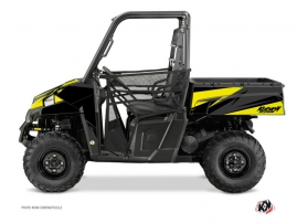 Polaris Ranger 900 UTV Stage Graphic Kit Black Yellow