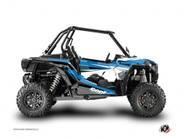Polaris RZR 1000 Turbo UTV Stage Graphic Kit Blue