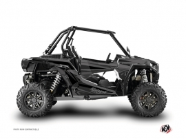 Polaris RZR 1000 Turbo UTV Stage Graphic Kit Black Grey
