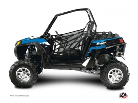 Polaris RZR 800 S UTV Stage Graphic Kit Blue