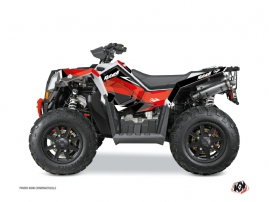 Polaris Scrambler 850-1000 XP ATV Stage Graphic Kit Red