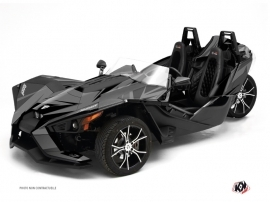 Polaris Slingshot Roadster Stage Graphic Kit Black Grey