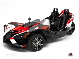 Kit Déco Hybride Stage Polaris Slingshot Rouge