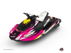 Seadoo Spark Jet-Ski Stage Graphic Kit Pink