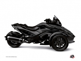 Can Am Spyder RT Roadster Stage Graphic Kit Black Grey