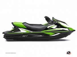 Kawasaki STX 15F Jet-Ski Stage Graphic Kit Green
