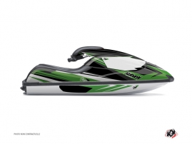 Kawasaki SXR 800 Jet-Ski Stage Graphic Kit Green