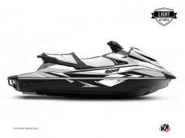 Yamaha VX Jet-Ski Stage Graphic Kit White LIGHT