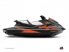 Yamaha VX Jet-Ski Stage Graphic Kit Grey Orange