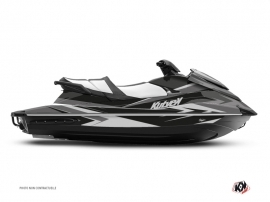 Yamaha VX Jet-Ski Stage Graphic Kit Black Grey