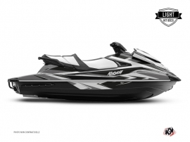 Yamaha VX Jet-Ski Stage Graphic Kit Black Grey LIGHT