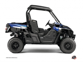 Yamaha Wolverine-R UTV Stage Graphic Kit Blue