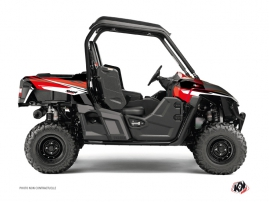 Yamaha Wolverine-R UTV Stage Graphic Kit Black Red