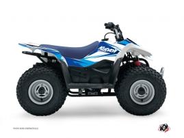 Suzuki Z 50 ATV Stage Graphic Kit Blue