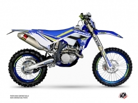 Sherco SE / SEF Dirt Bike Stam Graphic Kit Blue