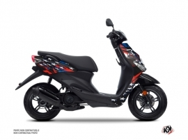 Yamaha NEOS Scooter Stars Graphic Kit Blue