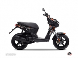 Yamaha Slider Scooter Stars Graphic Kit Orange