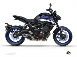 Yamaha MT 09 Street Bike Steel Graphic Kit Black Blue