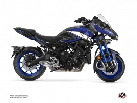 Yamaha NIKEN Street Bike Steel Graphic Kit Blue