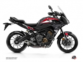 Yamaha TRACER 900 Street Bike Steel Graphic Kit Black Red