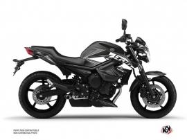 Kit Déco Moto Steel Yamaha XJ6 Noir Blanc
