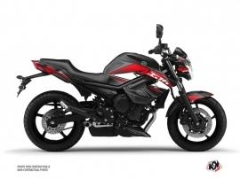 Kit Déco Moto Steel Yamaha XJ6 Noir Rouge
