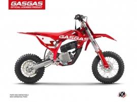 GASGAS MC-E 5 Dirt Stella Flash Graphic Kit Red