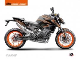 Kit Déco Moto Storm KTM Duke 790 Noir Orange