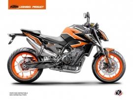 Kit Déco Moto Storm KTM Duke 790 Orange Noir