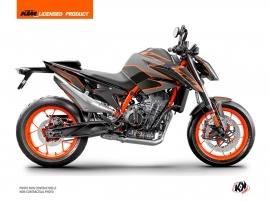 KTM Duke 890 Street Bike Storm Graphic Kit Black Orange
