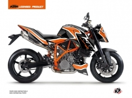 KTM Super Duke 990 R Street Bike Storm Graphic Kit Orange Black