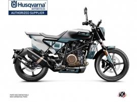 Kit Déco Moto Straight Husqvarna Svartpilen 701 Bleu Blanc