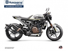 Husqvarna Vitpilen 701 Street Bike Straight Graphic Kit Grey Black