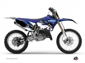 Yamaha 125 YZ Dirt Bike Stripe Graphic Kit Blue
