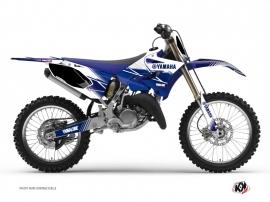 Yamaha 125 YZ Dirt Bike Stripe Graphic Kit Night Blue