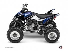 Yamaha 250 Raptor ATV Stripe Graphic Kit Blue