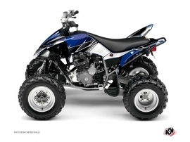 Yamaha 250 Raptor ATV Stripe Graphic Kit Blue