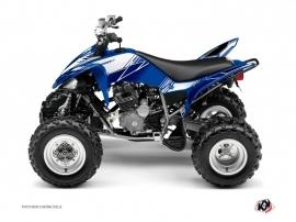 Kit Déco Quad Stripe Yamaha 250 Raptor Bleu Nuit